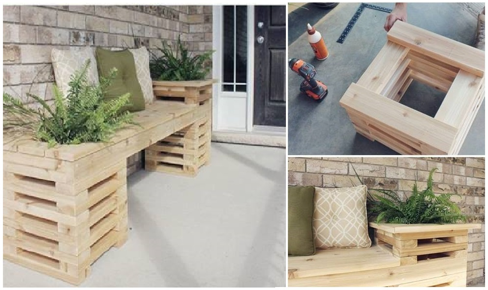 Wood Bench Design for Your Patio!