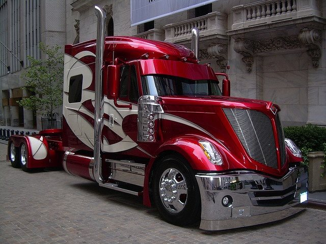 international lonestar already unique truck customized. Black Bedroom Furniture Sets. Home Design Ideas