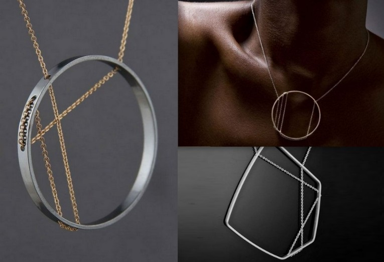 Angular Jewelry from Minimalist Designer