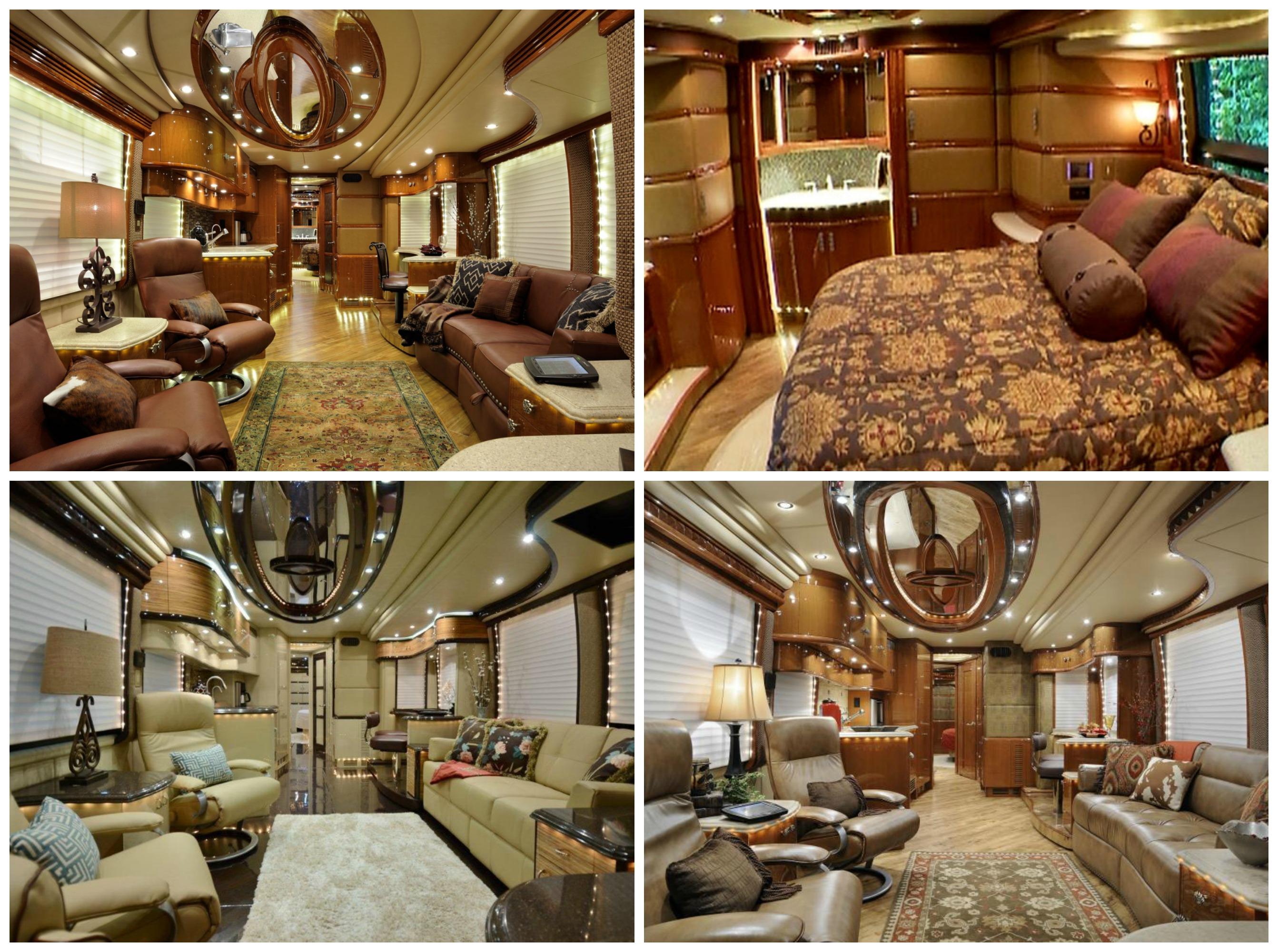 Liberty Coach Makes Famous Luxury Motorhomes